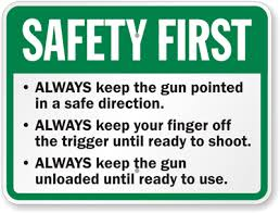 A Quick Reminder About Gun Safety