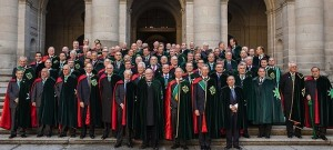 Scalia and his Cohorts in Madrid 2013